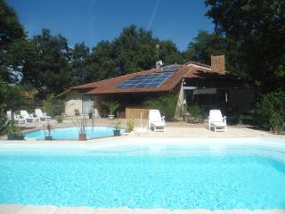 maison villa 2 piscines chauffé , grand jardin arb, Messanges