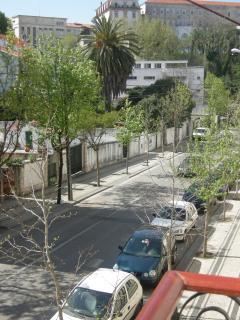 Vista terraço Escadas Monumentais Universidade de Coimbra