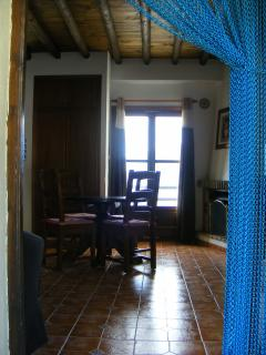 View from Entrance Door into Casa Jazmin.