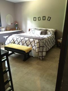 Main floor king bedroom