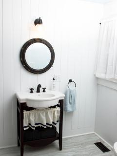 Master Bathroom with Shower Stall
