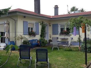 Vacation Apartment in Freinsheim - 753 sqft, large beds, lots of room, big backyard (# 674)