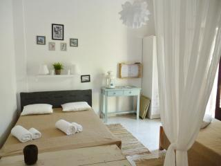 Charming Studio 3 people with terrace, 150 meters from the beach of Livadia, Paros