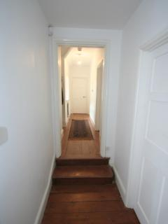 2nd hallway inside apartment