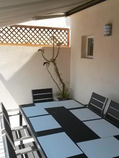 Folding table for up to 10-12 guests
