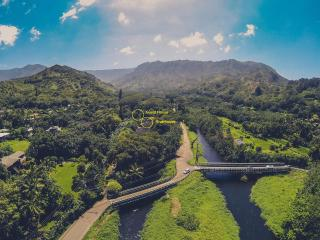 River Estate is located at the mouth of the deepest valley on Kauai