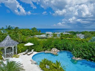 Poolside villa with ocean views. AA CAQ, Barbados