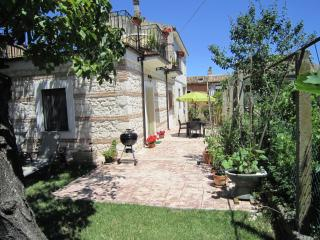 Majella National Park in Abruzzo! Lovely self catering garden apartment.