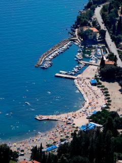 10 min walking, panoram view  beach Icici