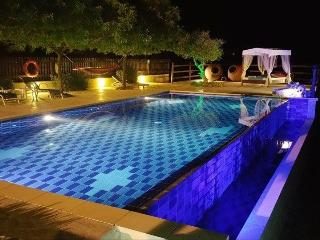 "villa with large swimming pool in ""agios mama"""