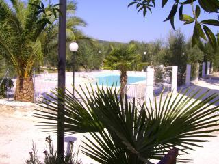 appartamento in villa privata con piscina e parco, Peschici