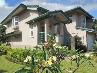 Elegant villa with mountain and golf course views, easy to beaches/shopping, Princeville