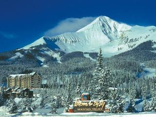 Shoshone Condo at Prestigious Big Sky Resort, Minutes from Chairlift!