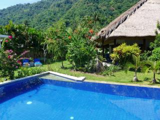 Spacious 2 BR Villa in Tropical Garden/Large Veranda/Shared Pool/Valley View