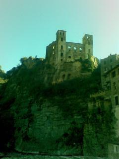 Il castello di Ossana,paese poco distante