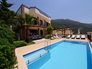 Villa Kalkan Seaview 4 bedroom rental villa