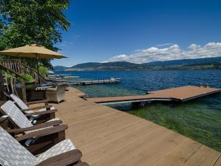 Premium Lake Front Cottage on Okanagan Lake, Kelowna