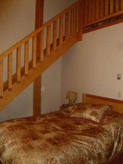 Fir Room, Great for families with 2 double beds, 1 in the loft