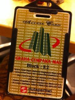 accescard GRAHA CEMPAKA MAS + free GYM