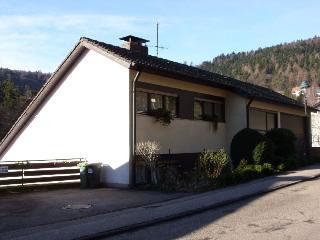 Vacation Apartment in Bad Herrenalb - 215 sqft, 1 living room / bedroom, max. 2 People (# 8612)