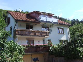 Vacation Apartment in Todtnau - 1023 sqft, 2 bedrooms, 1 living room / bedroom, max. 6 persons (# 8714)