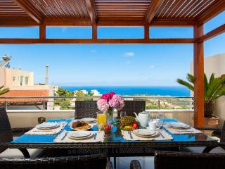 Great Sea View Villa, Rethymnon