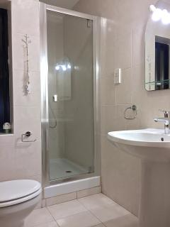 Well equipped Master Bedroom Ensuite shower and toilet