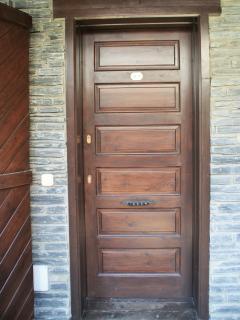 Puerta apartamento B4