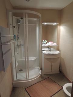 Salle de bain chambre Bambou