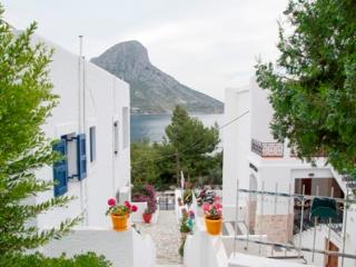side sea view apartments of 2-3 persons, Kalymnos