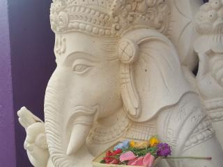 Ganesha will greet you has you walk in the front doors to the villa.