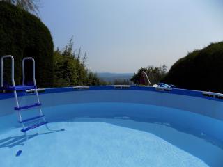 rez de jardin plein sud vue panoramique, Grasse