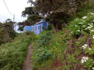 Casa Azul,  en el Parque Rural de Anaga,  Tenerife, Santa Cruz de Tenerife