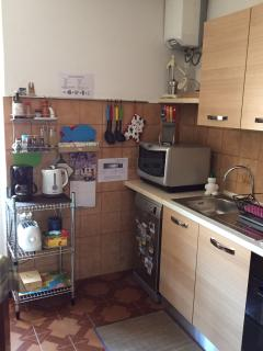 The equiped Kitchen