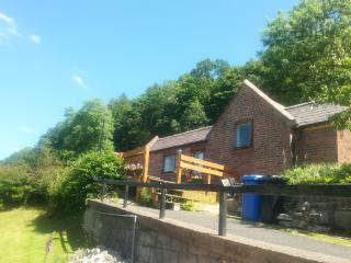 Detached self catering holiday home stunning views, Llangollen