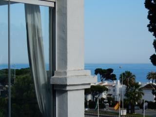 Sea view from front balcony