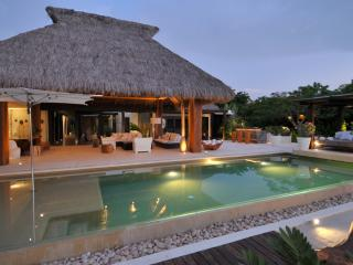 An incredible 'Palapa' style villa with modern Balinese influences, Punta Mita, Punta de Mita