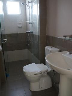 Bathroom shower cubical
