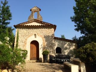 La chapelle du Domaine Saint Sauveur à Grasse