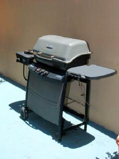 Old BBQ; now there is a new one. Need to update photo.