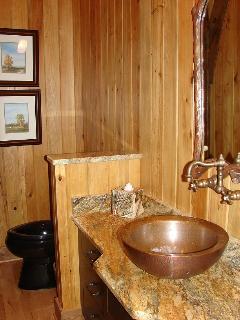 1/2 Bath Located on Main Floor