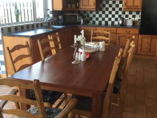 Kitchen. Seating for 10 people