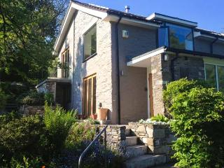 ERW NANT, architect-designed detached, woodburner, gardens, woodburner, WiFi, ne