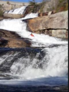 The kayaking is for the risktakers only!