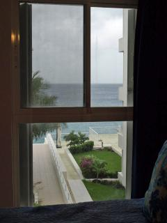 View of the sea from Bedroom #3