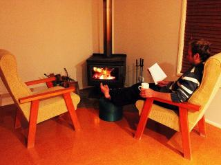 Sit by our luxurious woodfire to keep warm in the depths or Armidale's cold winters!