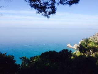 villino a picco sul mare di Sperlonga