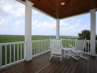 Marsh Madness - Enjoy panoramic views from the attractively furnished decks, Wrightsville Beach