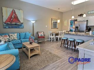 Beautiful All-New 4/3 with a view of the Gulf & Steps from the Beach!, Corpus Christi