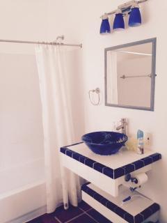 Master bathroom, with tub